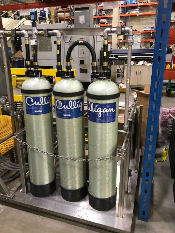 Portable Exchange Deionization Tanks
